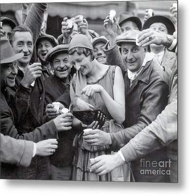 Prohibition Repealed, 1933 Metal Print by Science Source