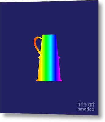 Rainbow Stein Metal Print by Frederick Holiday