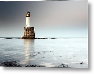 Rattray Head Lighthouse  Metal Print by Grant Glendinning