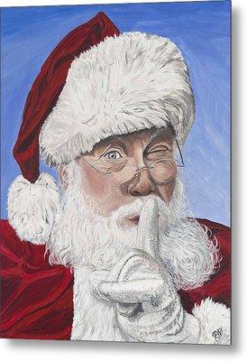 Santa Claus Metal Print by Patty Vicknair
