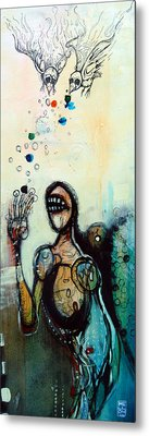 Separation Of Mind Metal Print by Mark M  Mellon