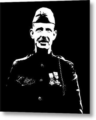 Sergeant Alvin York Metal Print by War Is Hell Store
