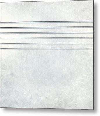 Six Strings Metal Print by Scott Norris