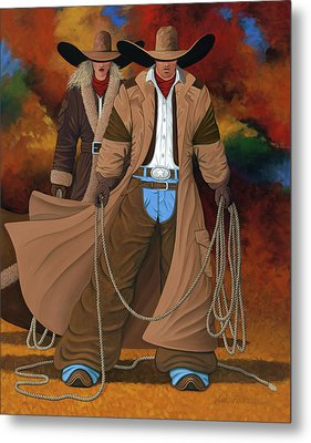 Stand By Your Man Metal Print by Lance Headlee