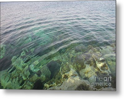 Start A Ripple Metal Print by Clay Cofer