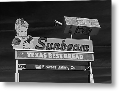 Sunbeam - Texas Best Bread Metal Print by Mountain Dreams