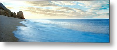 Sunrise Over Pacific Ocean, Lands End Metal Print by Panoramic Images