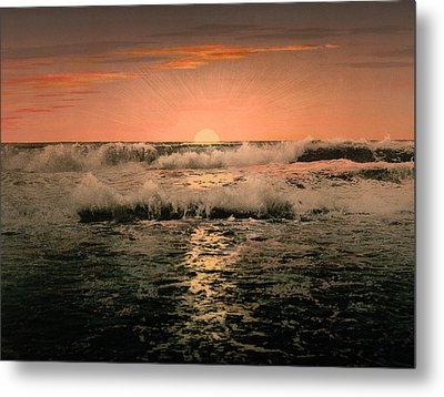 Sunrise Metal Print by Unknown