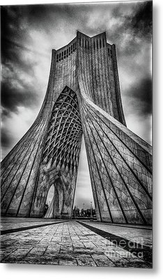 The Azadi Tower Metal Print by Mao Lopez