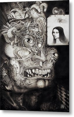 The Beast Of Babylon Metal Print by Otto Rapp