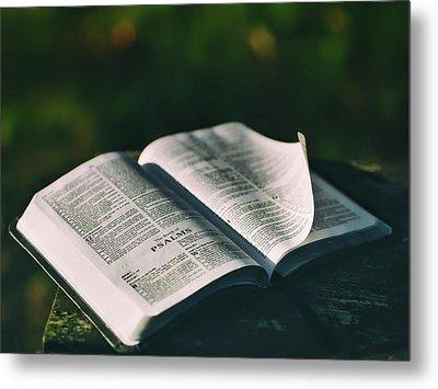 The Book Of Psalms Metal Print by Aaron Burden