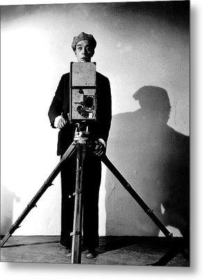 The Cameraman, Buster Keaton, 1928 Metal Print by Everett