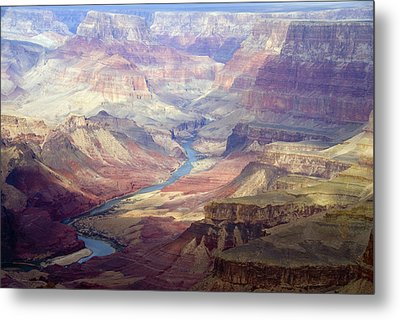 The Colorado River And The Grand Canyon Metal Print by Annie Griffiths