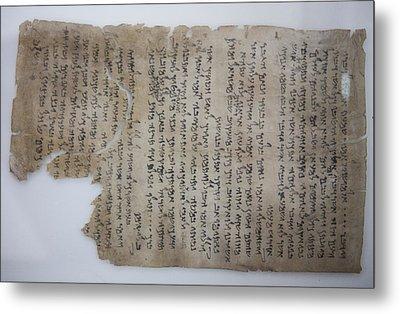 The Dead Sea Scrolls Metal Print by Taylor S. Kennedy