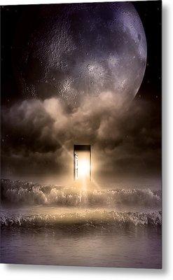 The Door Metal Print by Svetlana Sewell