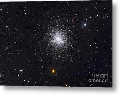 The Great Globular Cluster In Hercules Metal Print by Roth Ritter