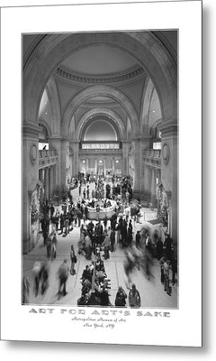 The Metropolitan Museum Of Art Metal Print by Mike McGlothlen