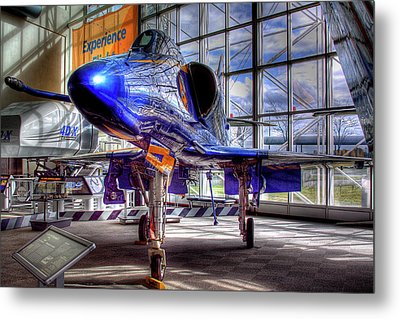 The Navy's Blue Angel Metal Print by David Patterson