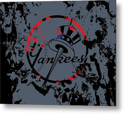 The New York Yankees Metal Print by Brian Reaves