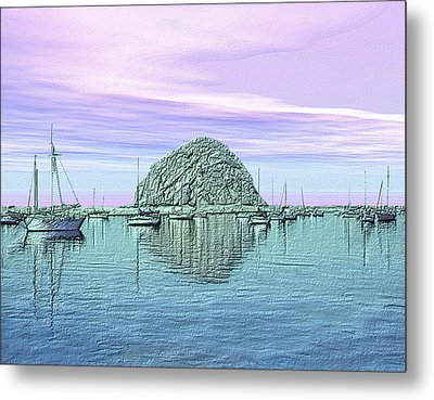 The Rock Metal Print by Kurt Van Wagner
