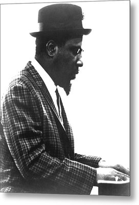 Thelonius Monk 1917-1982jazz Pianist Metal Print by Everett