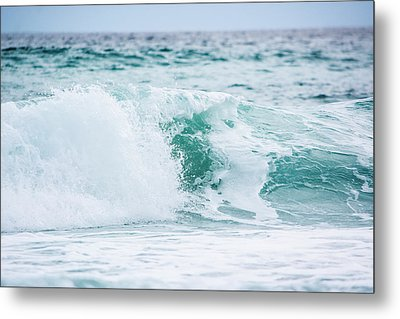 Turquoise Waters Metal Print by Shelby  Young