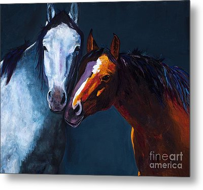 Unbridled Love Metal Print by Frances Marino