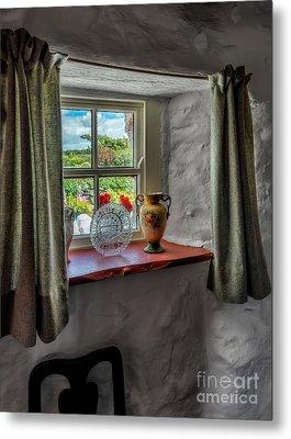 Victorian Window  Metal Print by Adrian Evans