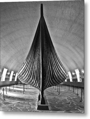 Vikingship Metal Print by A A