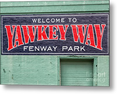 Welcome To Yawkey Way Metal Print by Dawna  Moore Photography