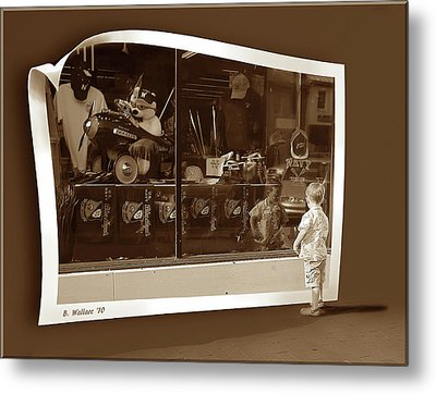 Window Dreaming Metal Print by Brian Wallace
