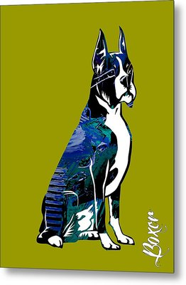 Boxer Collection Metal Print by Marvin Blaine