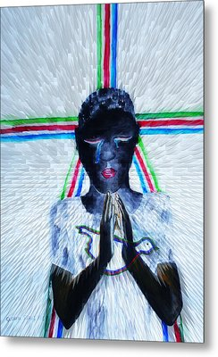 Hope For Peace In South Sudan Metal Print by Gloria Ssali