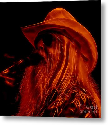 Leon Russell Collection Metal Print by Marvin Blaine