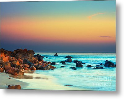 Sunset Metal Print by MotHaiBaPhoto Prints