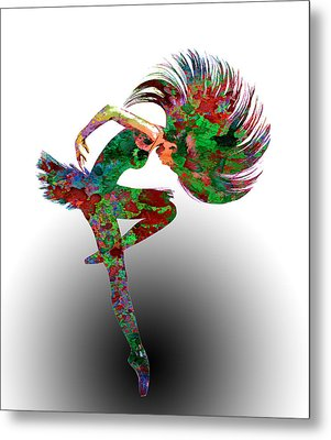 Dance Metal Print by Elena Kosvincheva