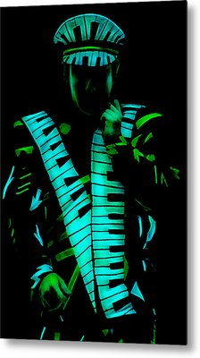 Elton John Collection Metal Print by Marvin Blaine