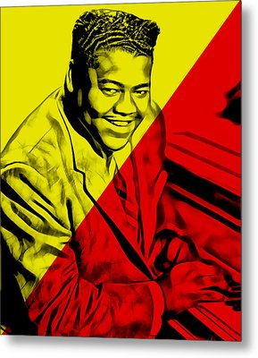 Fats Domino Collection Metal Print by Marvin Blaine