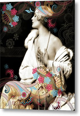 Goddess Metal Print by Chris Andruskiewicz