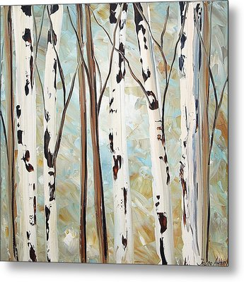 Abstract Landscape Metal Print by Jolina Anthony