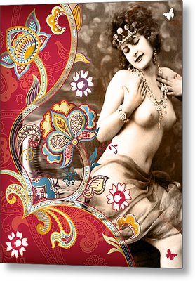 Goddess Metal Print by Chris Andruskiewicz