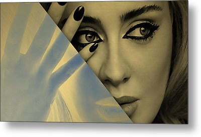 Adele Collection Metal Print by Marvin Blaine