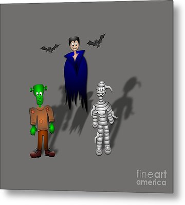 Halloween Metal Print by Frederick Holiday