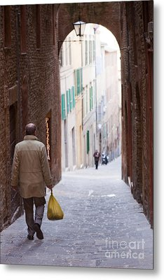 Siena Metal Print by Andre Goncalves