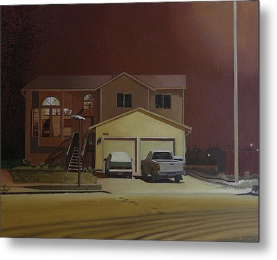 15698 168th Ave. S.e. Metal Print by Thu Nguyen