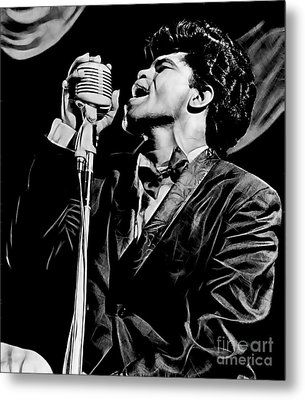 James Brown Collection Metal Print by Marvin Blaine