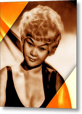 Etta James Collection Metal Print by Marvin Blaine