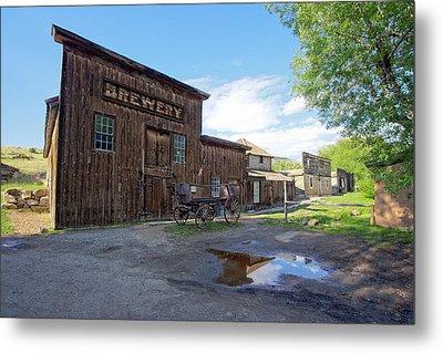 1863 H. S. Gilbert Brewery - Virginia City Ghost Town Metal Print by Daniel Hagerman