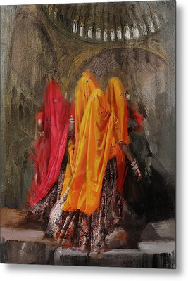 19 Pakistan Folk B Metal Print by Maryam Mughal