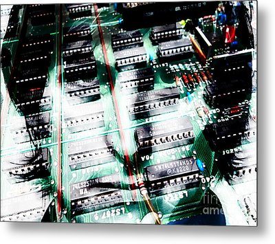 Steve Jobs Collection Metal Print by Marvin Blaine